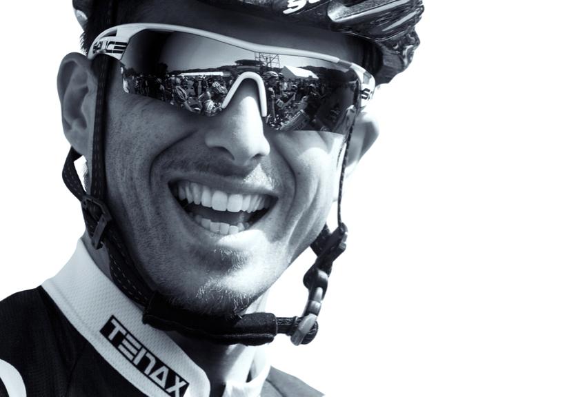 Claudio Cucinotta ciclista professionista adesso allenatore, preparatore atletico ciclismo, biomeccanico presso il centro Medicus a Udine, in Friuli