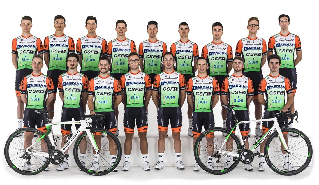 Team Bardiani - CSF, squadra professionistica di ciclismo, di cui Claudio Cucinotta è stato preparatore atletico, allenatore, direttore sportivo e biomeccanico dal 2015 al 2019
