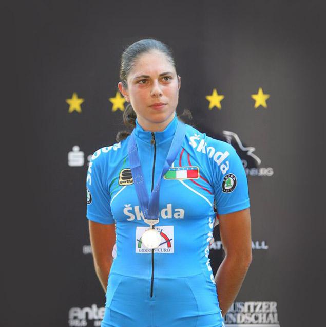 Annalisa Cucinotta, pluri campionessa Italiana, Europea, Mondiale su pista e strada nazionale italiana