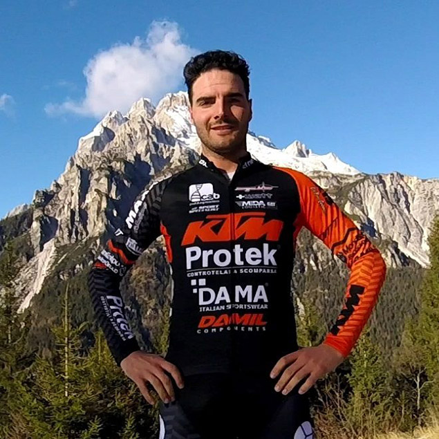 Mirko Tabacchi Campione Italiano MTB XC eliminator Team KTM Protek